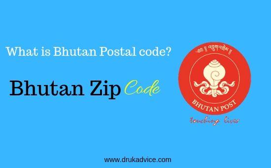 Bhutan Zip code