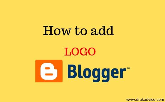 add logo in blogger