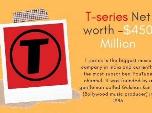 T series Net worth