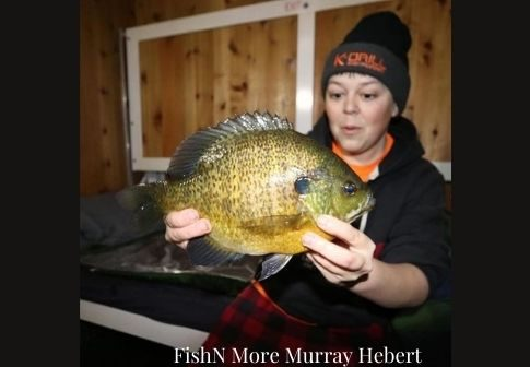 FishN More Murray Hebert biggest bluegill catch ever