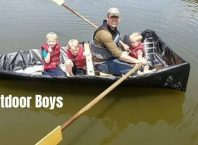 outdoor boys Luke made 3 person fishing boat for $120