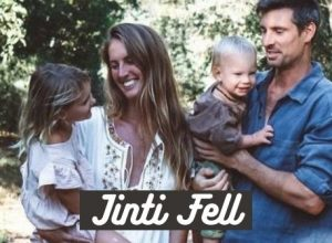 Jinti Fell along with her husband Chris and two children in Palm Beach enjoying the scenic view
