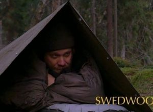 Swedwoods outdoor camping in DDR cloak shelter