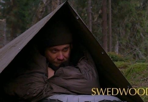 Swedwoods outdoor camping in DDR cloak shelter