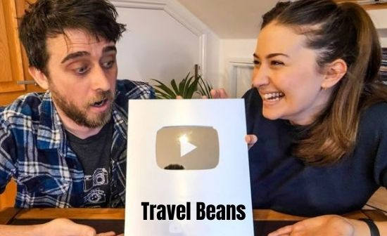 Travel Beans silver play button